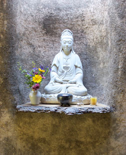Buddha in the GGF Garden Shed
